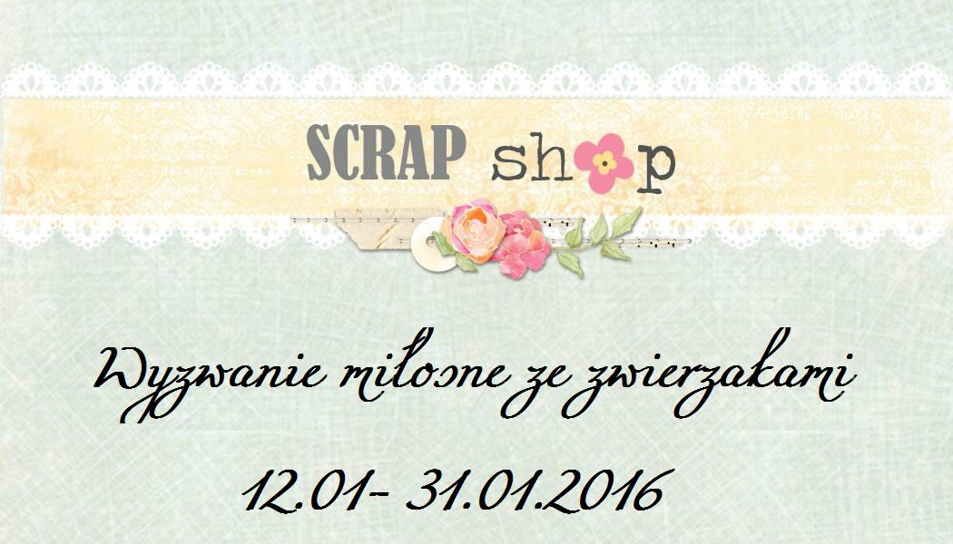 scrap shop wyzwanie miłosne ze zwierzakiem