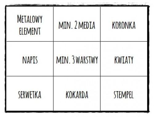 skarbnica pomysłów #1 - bingo