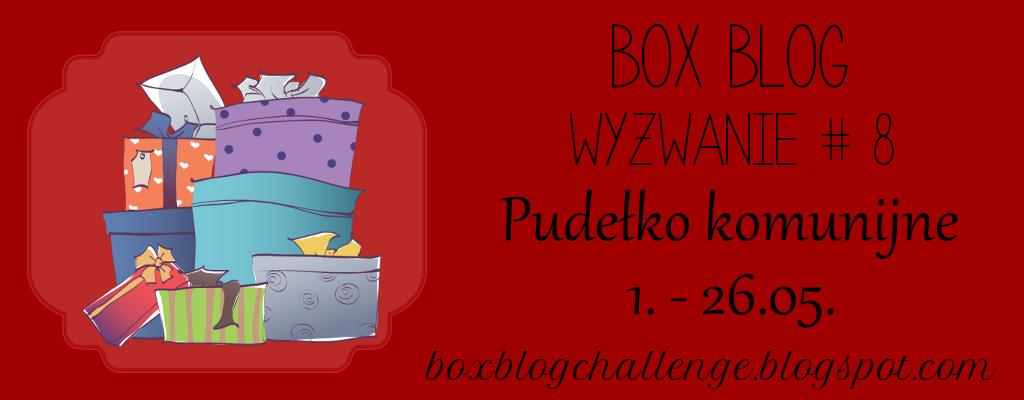 box blog #8 pudełko komunijne