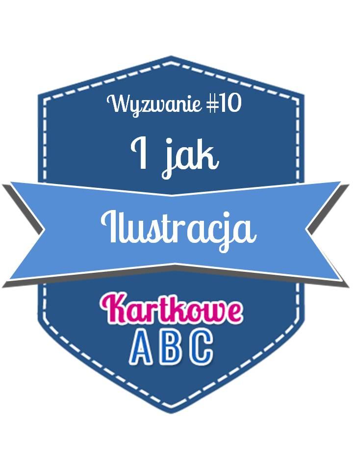 kartkowe ABC I jak ilustracja
